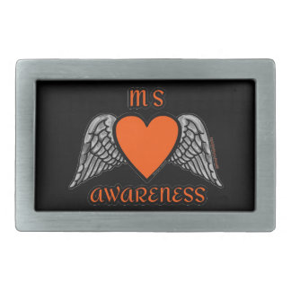 Heart/Wings...MS Rectangular Belt Buckle