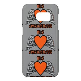 Heart/Wings...MS Samsung Galaxy S7 Case