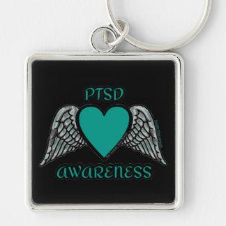 Heart/Wings...PTSD Keychain