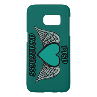 Heart/Wings...PTSD Samsung Galaxy S7 Case