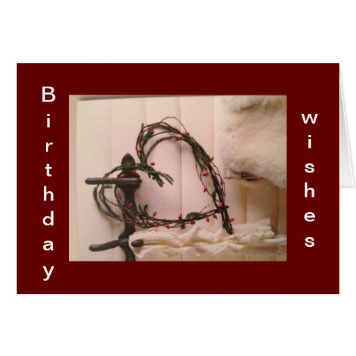 HEART WISHES THAT BIRTHDAY IS AS SPECIAL AS YOU GREETING CARD