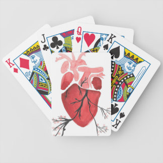 Heart With Branches Bicycle Playing Cards