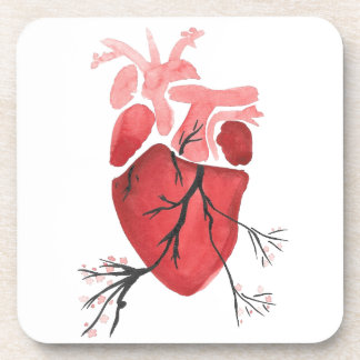 Heart With Branches Coaster