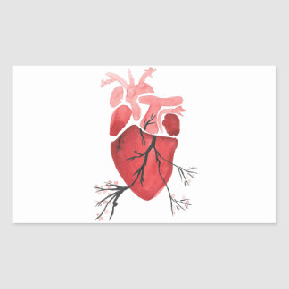 Heart With Branches Sticker