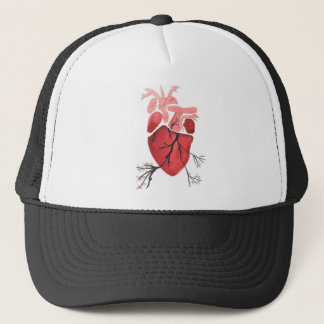 Heart With Branches Trucker Hat