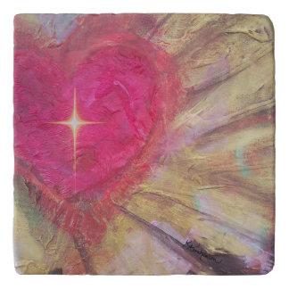 Heart with Cross Trivet
