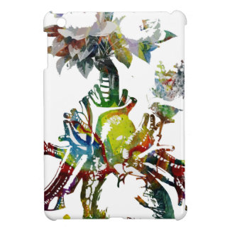 Heart with Flowers Abstract Gifts iPad Mini Cover
