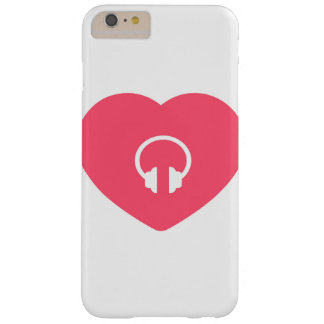 Heart with headphone icon cover