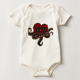 Heart with Tentacles Baby Bodysuit