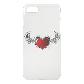 Heart with wings I-phone 7 back cover