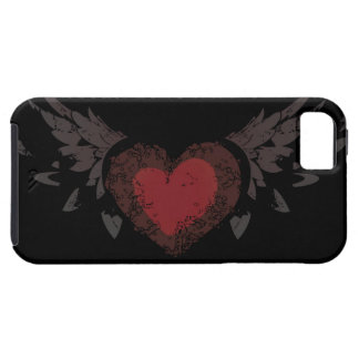 Heart with Wings iPhone 5 Case