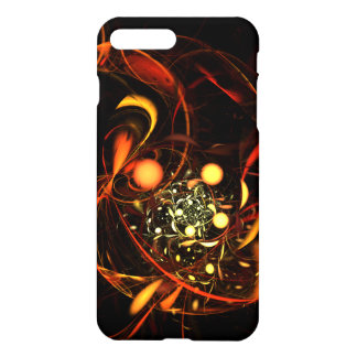 Heartbeat Abstract Art Glossy iPhone 8 Plus/7 Plus Case