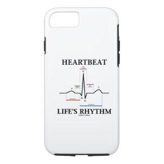 Heartbeat Life's Rhythm (Sinus Rhythm ECG/EKG) iPhone 8/7 Case
