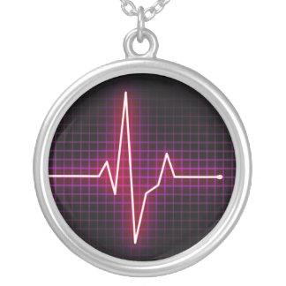Heartbeat Pulse ECG necklace