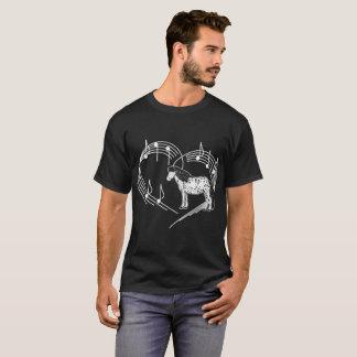 Heartbeats Appaloosa Horse Love Rhythm Tshirt