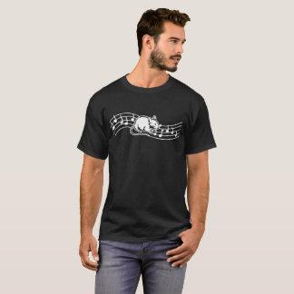 Heartbeats Gerbil Animal Pet Love Rhythm Tshirt