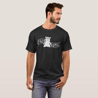 Heartbeats Hamster Animal Pet Love Rhythm Tshirt