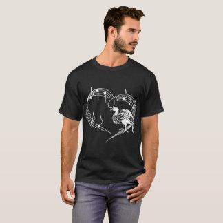 Heartbeats Turkey Animal Pet Love Rhythm Tshirt