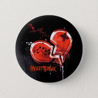 HeartBreak 2 Inch Round Button