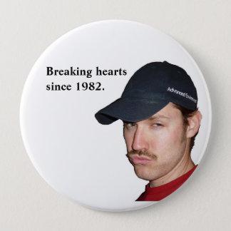 Heartbreaker 4 Inch Round Button