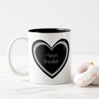 Heartbreaker Black Heart   Mug