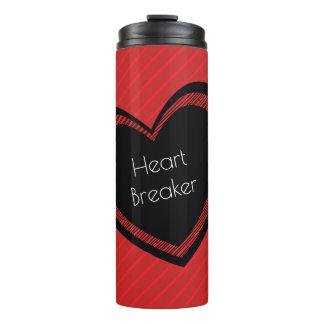 Heartbreaker Red and Black   Tumbler
