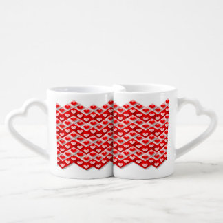Hearted double cups