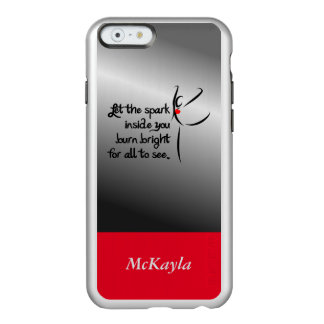 Heartfelt-Let the Spark Dance Incipio Feather® Shine iPhone 6 Case