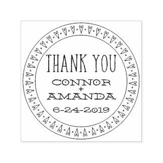 Heartfelt Thank You Custom Stamp
