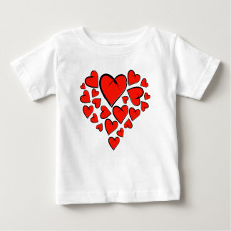 Heartinella - flying hearts baby T-Shirt
