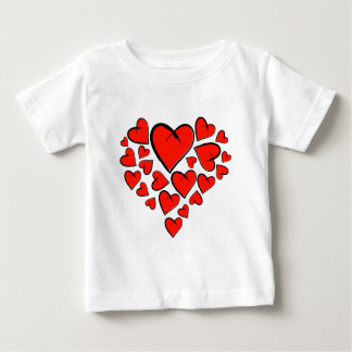 Heartinella - flying hearts baby T-Shirt