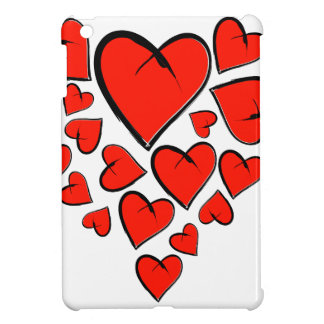 Heartinella - flying hearts case for the iPad mini