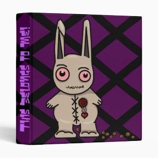 Heartless Bunny Binder! Binder