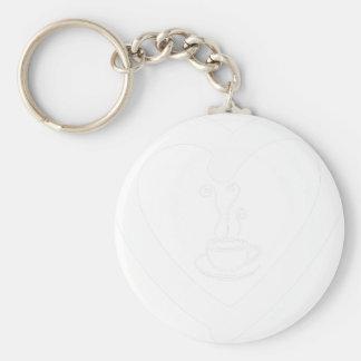 hearts10 keychain