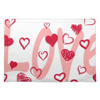 hearts2 placemat