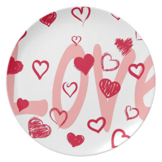 hearts2 plate