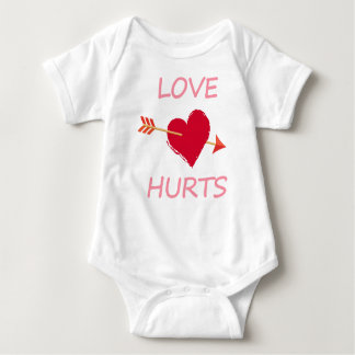 hearts6 baby bodysuit