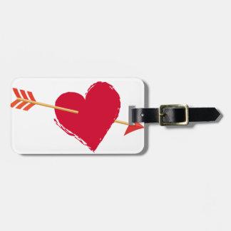 hearts6 luggage tag