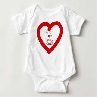 hearts8 baby bodysuit