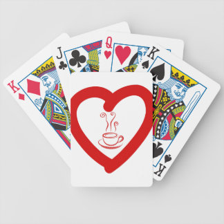 hearts8 bicycle playing cards