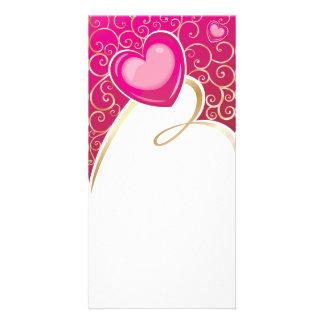 hearts (10) photo card