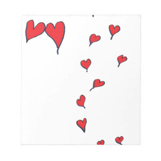 hearts 1 by tony fernandes notepad