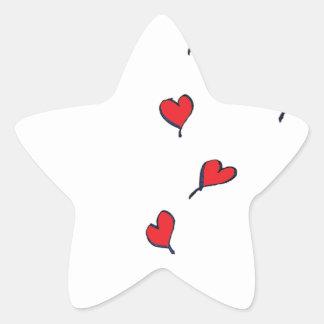 hearts 1 by tony fernandes star sticker