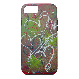 Hearts Abstract Original Art 6/6s iPhone 8/7 Case