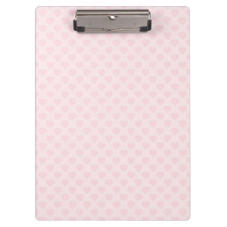 Hearts All Over Clipboard
