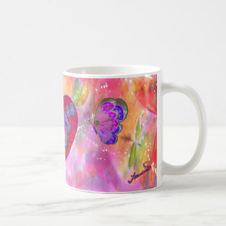 Hearts and Butterflies Mug