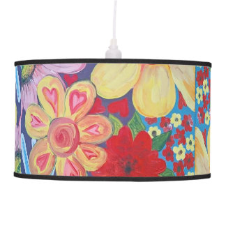 Hearts and Flowers lamp