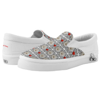Hearts and flowers Slip-On sneakers