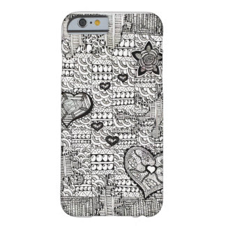 Hearts and Flowers- The Beginning Barely There iPhone 6 Case