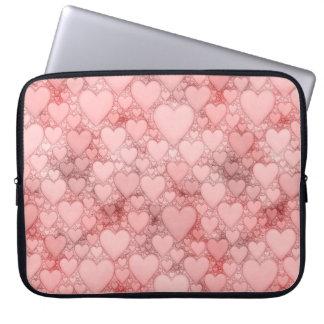 Hearts and Hearts, B Laptop Sleeve